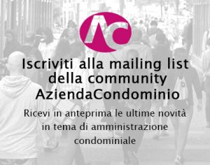 Mailing list Community AziendaCondominio